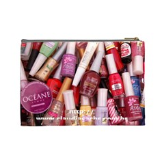 Nail Polish Bag 2 By Claudia Sachs   Cosmetic Bag (large)   8kkbtikmsp04   Www Artscow Com Back