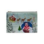 Here Comes Santa Medium Cosmetic bag - Cosmetic Bag (Medium)
