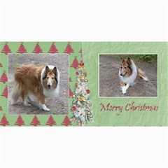 Here Comes Santa Card Set 2 By Snackpackgu   4  X 8  Photo Cards   Pdb4kp6tfzhm   Www Artscow Com 8 x4 Photo Card - 5