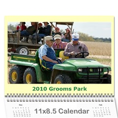 2010 Grooms Park By Rick Conley   Wall Calendar 11  X 8 5  (12 Months)   Kcwuc3albqft   Www Artscow Com Cover