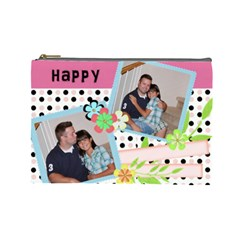 Kayleigh s Bag By Shannon Kellogg   Cosmetic Bag (large)   Ykotp8f68bcf   Www Artscow Com Front