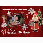Santa Brought Us the Best Present in 2010 5x7 Photo Christmas Card - 5  x 7  Photo Cards