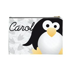 Animaland Cosmetic Bag L 02 By Carol   Cosmetic Bag (large)   86yyp5fwxli6   Www Artscow Com Back