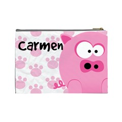 Animaland Cosmetic Bag L 04 By Carol   Cosmetic Bag (large)   Vp2mj03v0oe6   Www Artscow Com Back