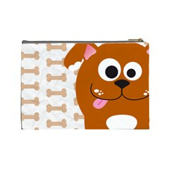 Animaland Cosmetic Bag L 05 By Carol   Cosmetic Bag (large)   Uipxw448a3d2   Www Artscow Com Back