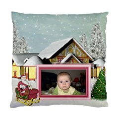 Here Comes Santa Cusion Case 1 By Snackpackgu   Standard Cushion Case (two Sides)   Cb0k38k2bkvz   Www Artscow Com Back