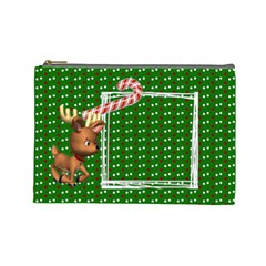 Christmas   Cosmetic Bag (large)   By Carmensita   Cosmetic Bag (large)   553qnitgmj5d   Www Artscow Com Front