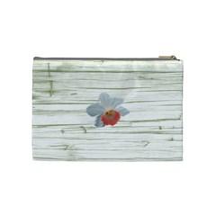 Apricot Cream Medium Cosmetic Case By Joan T   Cosmetic Bag (medium)   39c55am43dej   Www Artscow Com Back