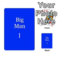 Sharp Practice Cards 1 By Jonathan Davenport   Multi Purpose Cards (rectangle)   Wu4q586a4fjw   Www Artscow Com Front 26