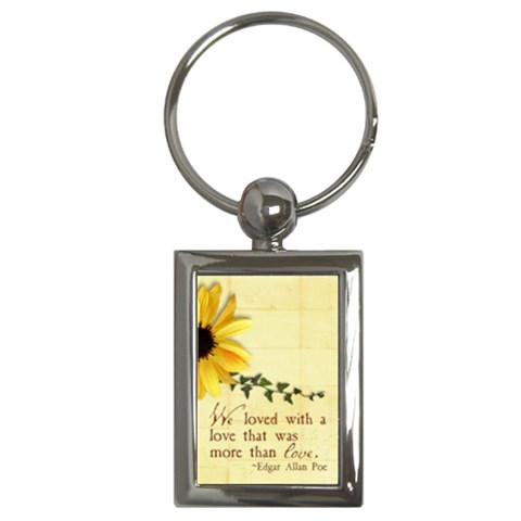 More Than Love  Key Chain By Mikki   Key Chain (rectangle)   Qkxuq4pukba4   Www Artscow Com Front