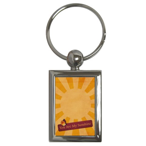You Are My Sunshine  Key Chain By Mikki   Key Chain (rectangle)   Ootp626lqwm0   Www Artscow Com Front