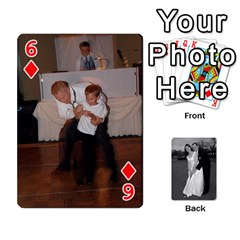 Melissa & Patrick Wedding Photos By Patrick Newport   Playing Cards 54 Designs   T8otir7i53ux   Www Artscow Com Front - Diamond6