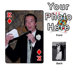 King Melissa & Patrick Wedding Photos By Patrick Newport   Playing Cards 54 Designs   T8otir7i53ux   Www Artscow Com Front - DiamondK
