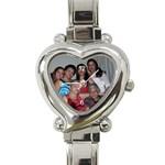lennie - Heart Italian Charm Watch