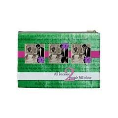 Wedding,love Bag By Brookieadkins Yahoo Com   Cosmetic Bag (medium)   Nkyp2y6nie7x   Www Artscow Com Back