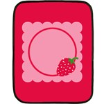 Strawberries blanket 01 - Fleece Blanket (Mini)