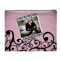 Romantic Xl Cosmetic Bag By Danielle Christiansen   Cosmetic Bag (xl)   U08unkqsqovw   Www Artscow Com Back