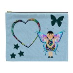 BLUE Fairy - Cosmetic Bag (XL)