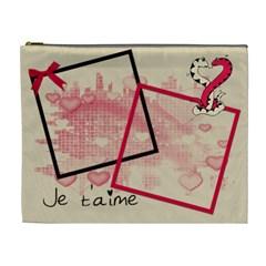 Love   Cosmetic Bag (xl) By Carmensita   Cosmetic Bag (xl)   459knbdpw3uz   Www Artscow Com Front