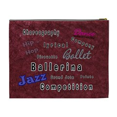 Dance Cosmetic Bag For Recitals By Danielle Christiansen   Cosmetic Bag (xl)   Eannsqjoak4y   Www Artscow Com Back