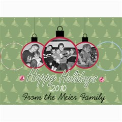 Ornament Card By Martha Meier   5  X 7  Photo Cards   Qpky920eo35h   Www Artscow Com 7 x5 Photo Card - 2