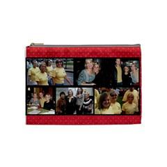 Test2 By Katie   Cosmetic Bag (medium)   7qtawr1u32zq   Www Artscow Com Front