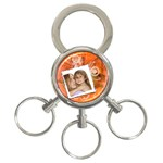 ornage theme - 3-Ring Key Chain
