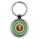 Sunshine key chain - Key Chain (Round)