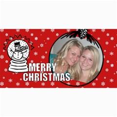 T Xmas 2 By Tiffany   4  X 8  Photo Cards   3alnma1o5fg3   Www Artscow Com 8 x4 Photo Card - 3