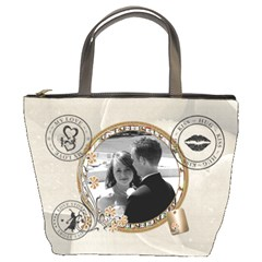 Love Story Bucket Bag By Lil    Bucket Bag   Bpbosdbzs0ru   Www Artscow Com Front