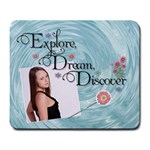 Explore, Dream, Discover Large Mousepad