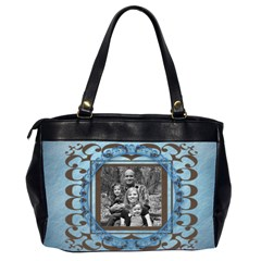Oversized Office Bag By Amanda Bunn   Oversize Office Handbag (2 Sides)   Mgwpboq1xuec   Www Artscow Com Back