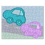 car puzzle - Jigsaw Puzzle (Rectangular)