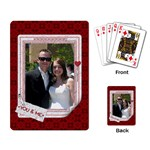 You & Me Playing Cards - Playing Cards Single Design