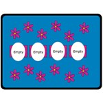 Pinck and blue - Blanket XL - Fleece Blanket (Large)