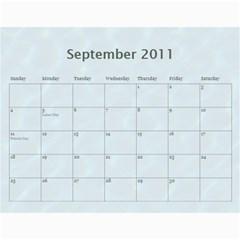 2011 Calendar By Shelley Peterson   Wall Calendar 11  X 8 5  (12 Months)   Ccwaj6gnhoyu   Www Artscow Com Sep 2011
