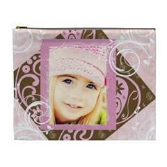 Girly Princess Xl Cosmetic Bag By Danielle Christiansen   Cosmetic Bag (xl)   Lqcttglfehk2   Www Artscow Com Front