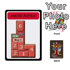 Enemychocolate By Bernard Donohue   Playing Cards 54 Designs   W80dba5fhsm3   Www Artscow Com Front - Heart2