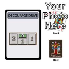 Enemychocolate By Bernard Donohue   Playing Cards 54 Designs   W80dba5fhsm3   Www Artscow Com Front - Diamond6
