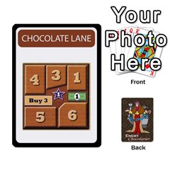 Queen Enemychocolate By Bernard Donohue   Playing Cards 54 Designs   W80dba5fhsm3   Www Artscow Com Front - DiamondQ