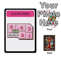 Enemychocolate By Bernard Donohue   Playing Cards 54 Designs   W80dba5fhsm3   Www Artscow Com Front - Club7
