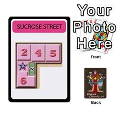 Enemychocolate By Bernard Donohue   Playing Cards 54 Designs   W80dba5fhsm3   Www Artscow Com Front - Spade7