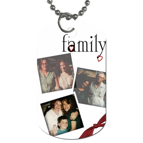 Kathy By Melanie   Dog Tag (one Side)   J2gekhkir6n1   Www Artscow Com Front