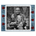 Single Photo Family Puzzlw - Jigsaw Puzzle (Rectangular)