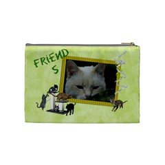 Cats2 By Karen   Cosmetic Bag (medium)   S8ufro10bbcj   Www Artscow Com Back
