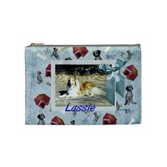 Friends Cosmetic Bag Medium2 By Snackpackgu   Cosmetic Bag (medium)   6bqy7rs36v27   Www Artscow Com Front