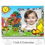 kalendar dari - Wall Calendar 11  x 8.5  (12-Months)