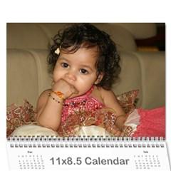 2011 Second By Soma Venkata   Wall Calendar 11  X 8 5  (18 Months)   Hai3fd1u36ql   Www Artscow Com Cover