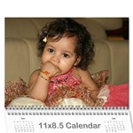 2011_Second - Wall Calendar 11  x 8.5  (18 Months)