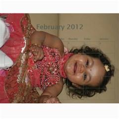 2011 Second By Soma Venkata   Wall Calendar 11  X 8 5  (18 Months)   Hai3fd1u36ql   Www Artscow Com Feb 2012